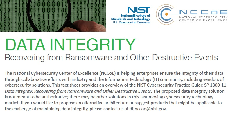 NIST NCCoE SP 1800-11